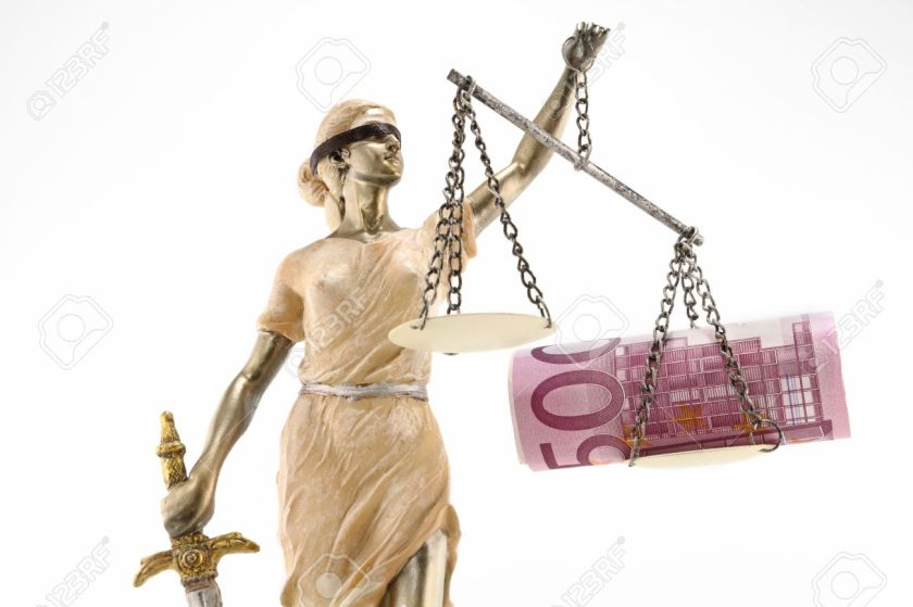 Blind Lady Justice - consigned to mythology?